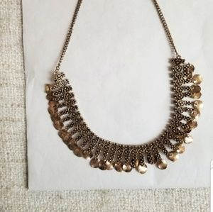 Forever 21 Bronze Statement Necklace